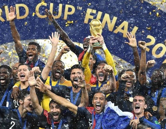 France Champions du monde 2018